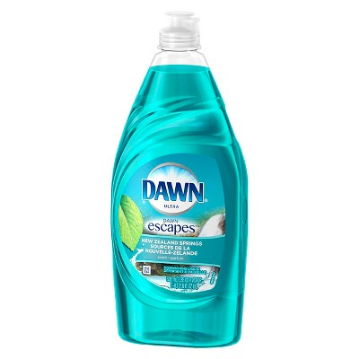 Dawn® Escapes™  New Zealand Springs™ Dishwashing Liquid 21.6 Oz