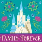 "Frozen ""Family Forever"" Paper Napkins (16 count)"