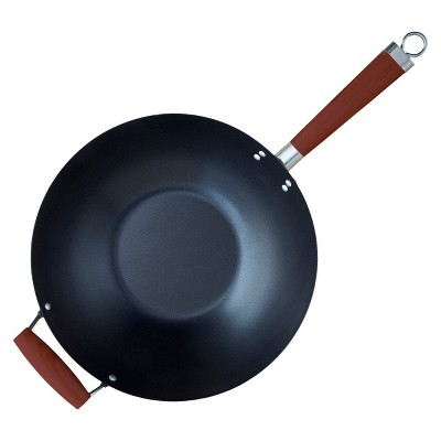 "IMUSA GlobalKitchen - 14"" Nonstick Wok, hand-selected by Chef George Duran"