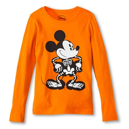 Image of Mickey Mouse Girls' Halloween Top