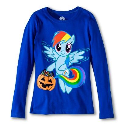 Image of My Little Pony Girls' Halloween Top