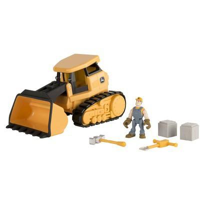 Indoor Toys John Deere Gear Force Crawler Playset
