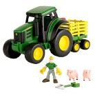 John Deere Gear Force Tractor Playset