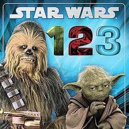 Star Wars 1, 2, 3 ( Star Wars Board Books)