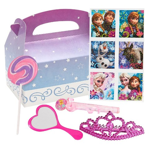 Frozen Princess Birthday Party Favor Box