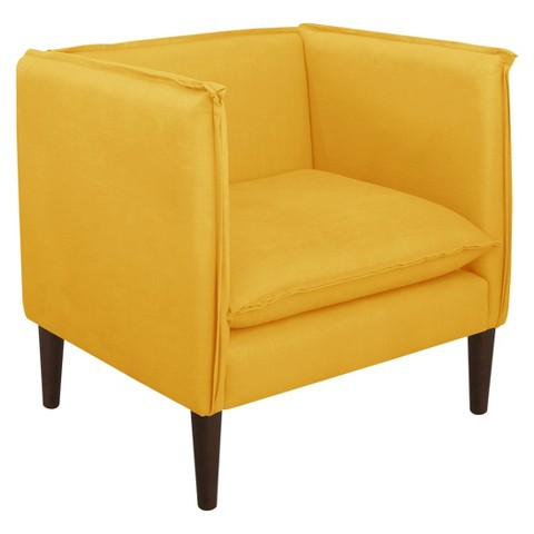 Skyline Accent Chair Linen French Yellow