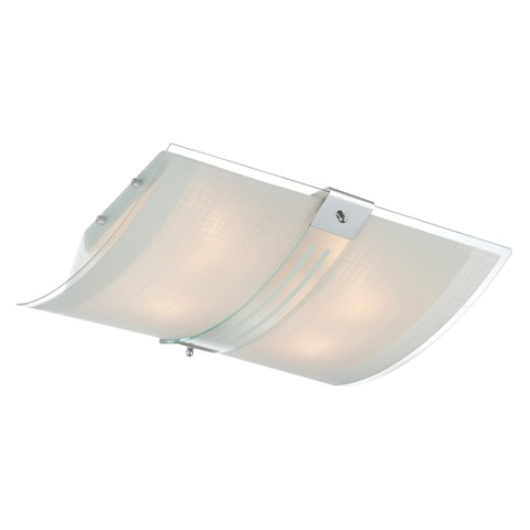 Lite Source Vicenzo Flush Mount Ceiling Light - Silver