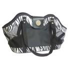 New York Dog® Black Zebra Open Tote