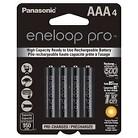 Panasonic Eneloop Pro AAA 4 Rechargeable Batteries Pack (PBK4HCCA4BA)
