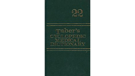 Taber's Cyclopedic Medical Dictionary 1977 13th edition Hard Cover Book