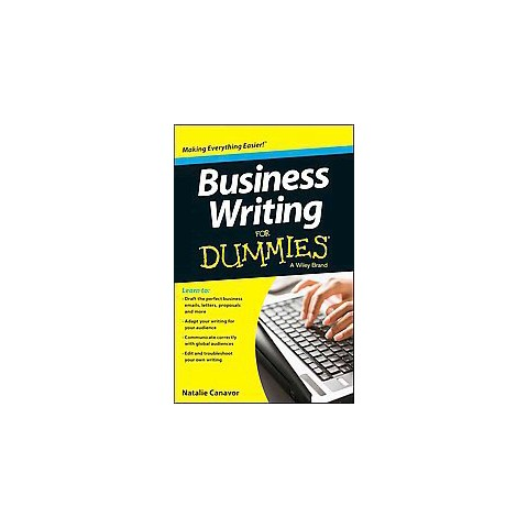 Business Writing For Dummies Paperback Target