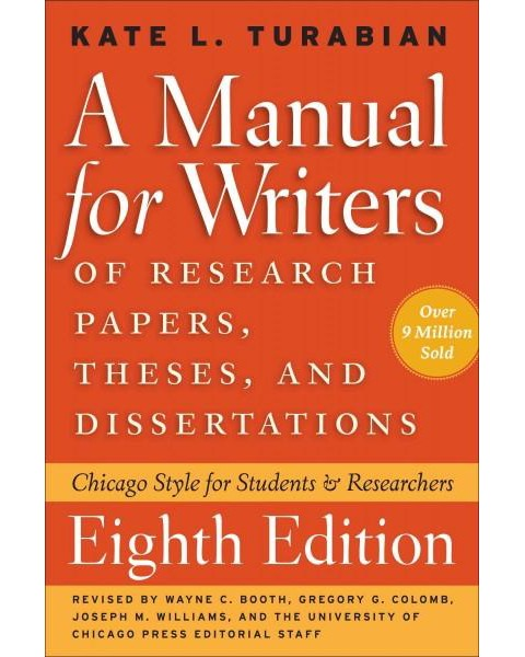 of term papers theses Now in its eighth edition, a manual for writers of research papers, theses, and dissertations has been fully revised to meet the needs of today's writers and researchers the manual retains its familiar three-part structure, beginning with an overview of the steps in the research and writing process, including formulating.