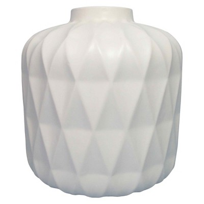 "8"" Blue Stoneware Vase - Threshold™"