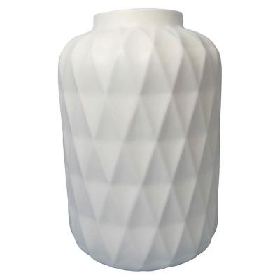 Vase Thrshd Stoneware 11in