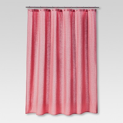 Threshold™ Shower Curtain Coral Dot