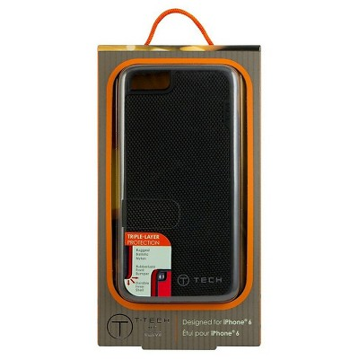 T-Tech by Tumi iPhone 6 Fitted Case (Black Ballistic Nylon), 25203