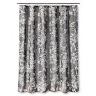 Shower Curtain Gray Floral - Threshold™