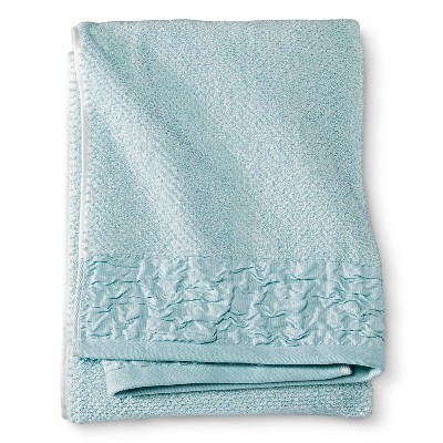 Bath Towel Green Pinch Pleat - Threshold™
