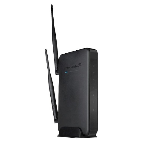 Amped Wireless N 600mW Smart Router - Black (R10000)