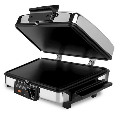 Black & Decker 3-in-1 Waffle Maker & Indoor Grill/Griddle