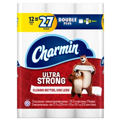 Charmin® Ultra Strong™ Toilet Paper 12 Double Plus Rolls