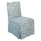 Tilton Fenwick Skirted Chair - Jax Blue
