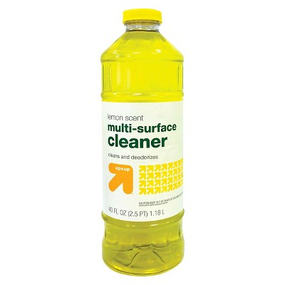 up & up™ Household Cleaner And Disinfectant - Lemon Scent - 40 oz