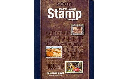 2015 Scott Standard Postage Stamp Catalogue Volume 4 : J-M Ex-Library