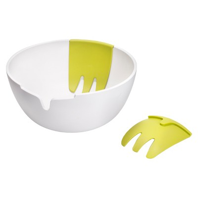 Joseph Joseph Hands On™ Salad Bowl and Servers - White