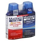 Mucinex Fast-Max Day & Night Cold & Flu Relief Liquid - 12 fl oz