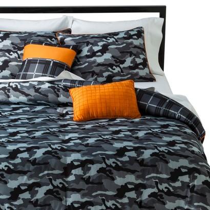 Brett 4 Piece Comforter Set - Multicolored (Twin)