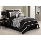 Laken Zebra 8 Piece Comforter Set