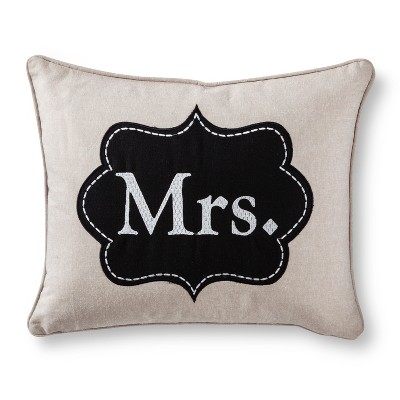 Decorative Pillow Black Neutral