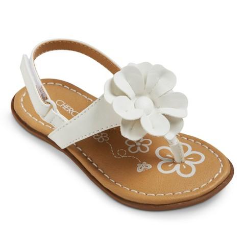 6a3ed27d0a9d Toddler Girl s Cherokee® Jess Sandals - Asso...   Target