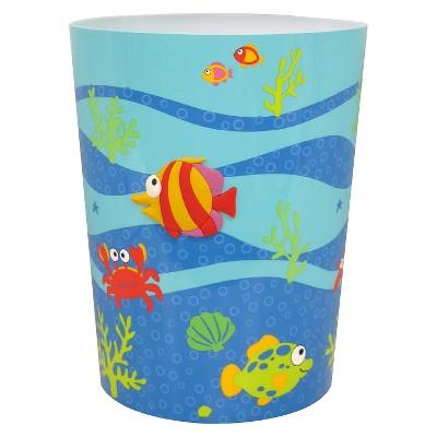 Fishtails Bathroom Wastebasket