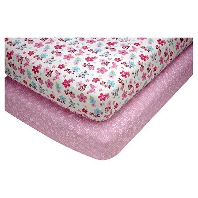 Disney Baby Fitted Sheet - Pink