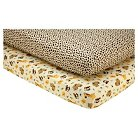 Little Bedding by NoJo Jungle Dreams 2 Pack Sheet Set