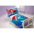 Disney® The Little Mermaid Ariel Ocean Princess 4 Piece Bedding Set - Toddler