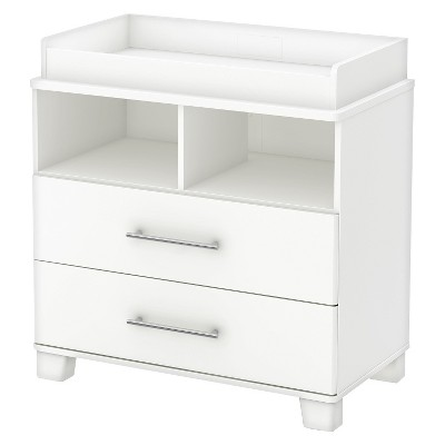 South Shore Cuddly Changing Table - Pure White