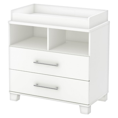 Cuddly Changing Table - Pure White