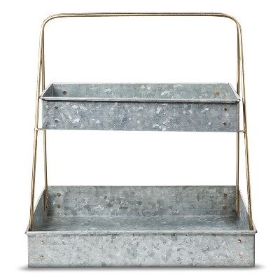 Smith & Hawken® Galvanized Plant Stand