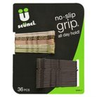 Scunci No Slip Grip Hair Pins - 36 Count