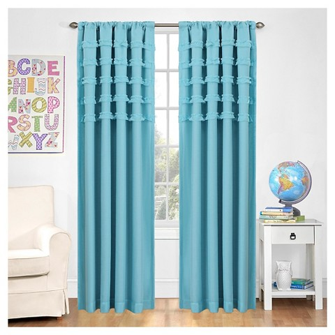 Eclipse my scene ruffle batiste window panel product details page