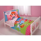 Lalaloopsy 4 Piece Bedding Set - Toddler
