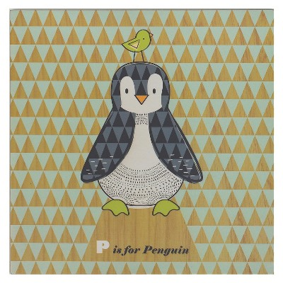 Penguin Wall Plaque