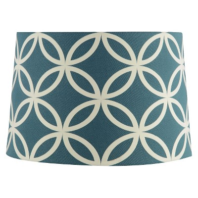 Extra Large Geometric Link Lamp Shade - Trout Stream