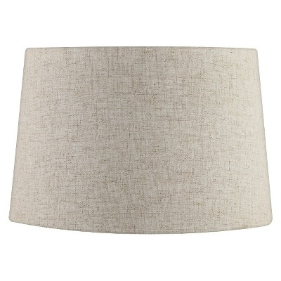 Extra Large Linen Lamp Shade - White