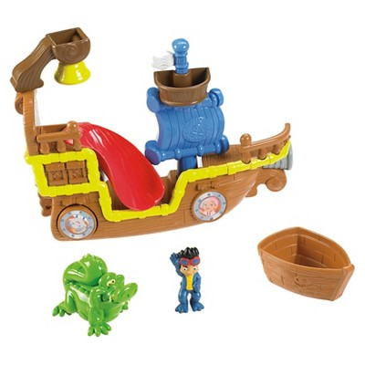 Fisher-Price Disney Jake and The Never Land Pirates Splashin' Bucky Bath Toy