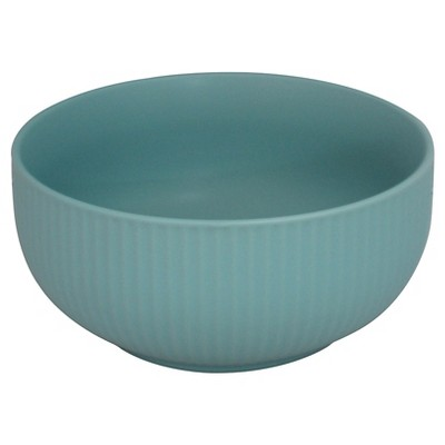 Ceramic Serve bowl- medium- aqua