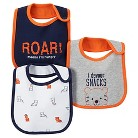Just One You™Made by Carter's® Newborn Boys' 3 Pack Tiger Bib Set